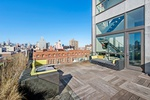 Stunning 2 Full Floors Penthouse with 14 Ft. Wall of Windows and Fabulous Roof Terrace